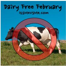 Dairy Free February ItsMeVsMe.com
